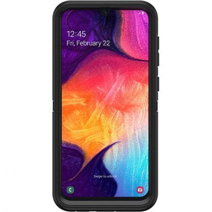 Galaxy A50 OtterBox Defender Case&Holster - Black