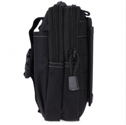 Outdoor Camping Hiking Bag Millitary Tactical Bag Molle Pouch Belt Loops Waist Bag Phone Case for iPhone Samsung - 7 Colors