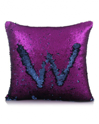 Glitter Square Sofa Cushion Home Decor Throw Pillow Cover ONLY