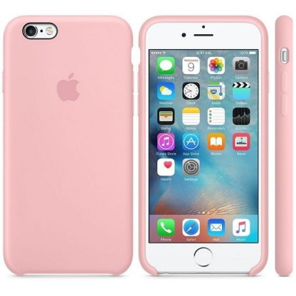 iPhone 6 iPhone 6s Original Apple Silicone Case - 6 Colors
