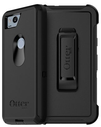 Google Pixel 2 OtterBox Defender Case w/ Holster - Black